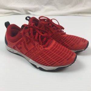 Reebok 6.5 CrossFit Training Red Sneakers Shoes